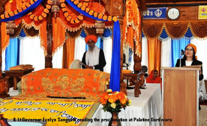 IL Lt Governor Evelyn Sanguetti reading the proclamation at Palatine Gurdwara_c_DSC_4820.JPG