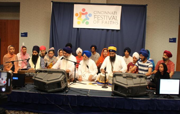 Kirtan at the Festival of Faiths.JPG