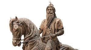 Maharaja Ranjit Singh statue Lahore Fort.jpg