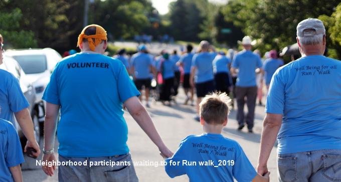 Neighborhood participants waiting to for Run walk_2019.jpg