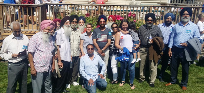 Schaumburg_Labor Day Parade_3 Sep 2019_Sikh participants after the parade with Illinois State Representative Michelle Mussman.jpg