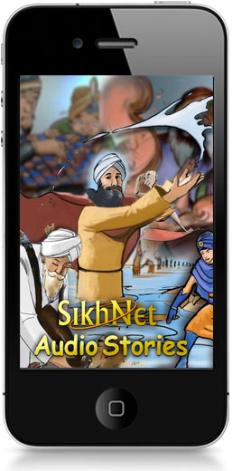 SikhNet Audio Stories App Screen Shot