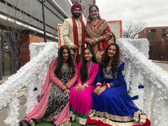 Thanksgiving day parade_2019_PCS Float_Manjeet Mona Bhalla and family.jpg