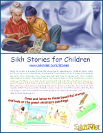 Children's Stories Flyer