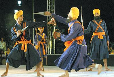 gatka the ancient martial art form of sikhs has flourished in north ...