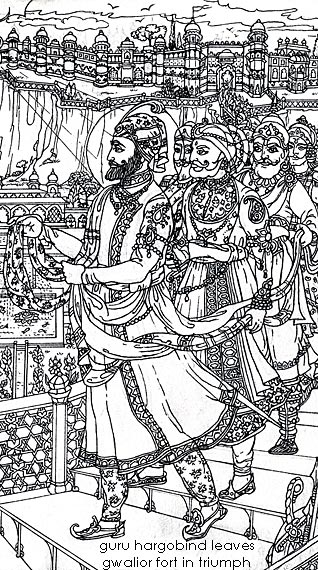 Celebrating Diwali Bandi Chhor Divas Sikhnet