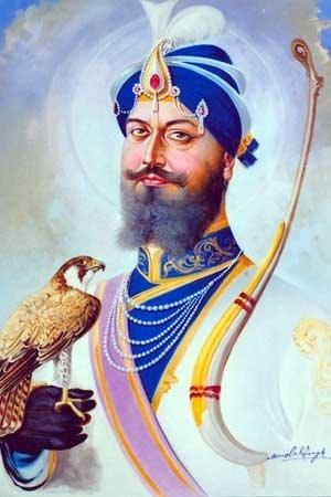 Guru personification of divine blessings sikhnet - Shri guru gobind singh ji wallpaper ...