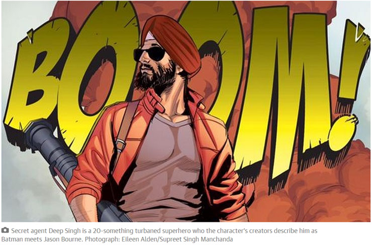 Super Sikh: A Superhero In A Turban Fighting Injustice