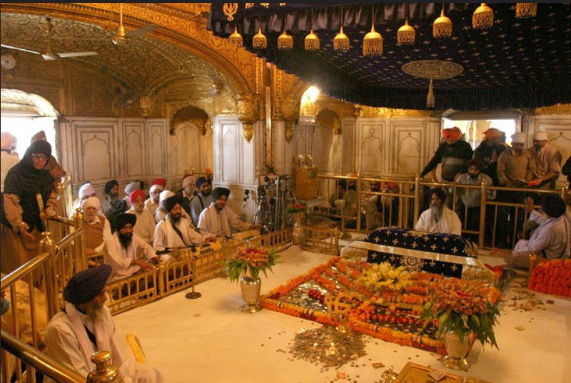 Image result for golden temple inside