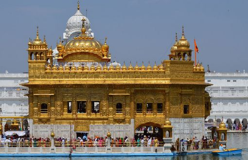 look in a gold facts of marble covered lets be genuine strands is golden known lesser said about take gurudwara fed white these lake to leaf temple at the with center dsc water constructed