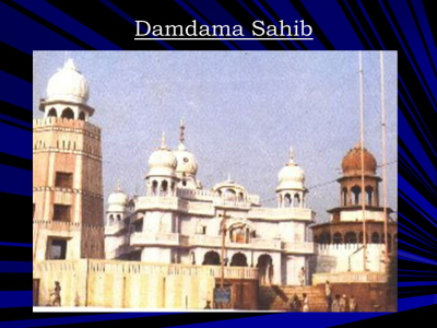 Damdama+Sahib+Gurdwara+dedicated+to+the+sacrifice+of+Bhai+Mani+Singh+ji! (115K)