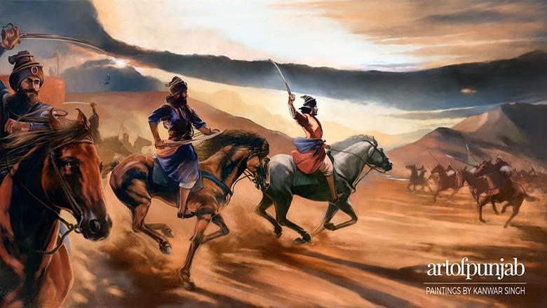 Baba Ajit Singh ~ The Khalsa Charge | SikhNet