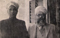 Nobel Laureate C.V. Raman and B.K. Singh