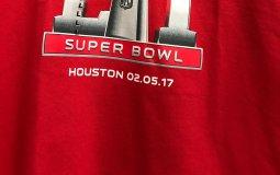 Super Bowl LI tee shirt