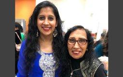 Min Kaur with her mother Pritpal Kaur