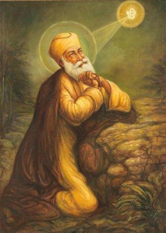Guru Nanak praying.jpg