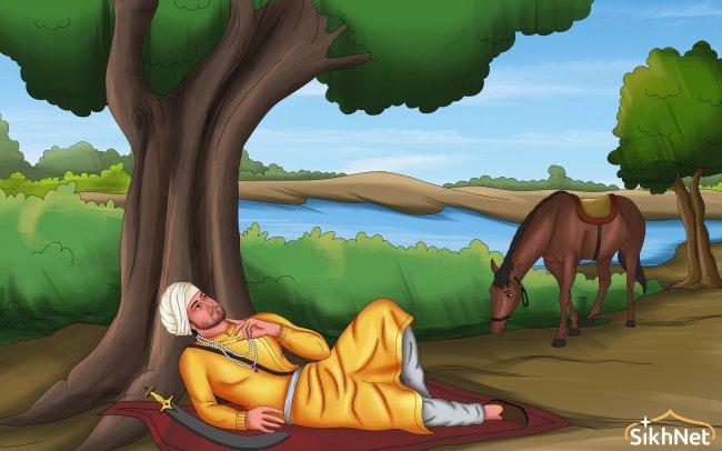Stillness of Teg Bahadur contemplation gold logo.jpg