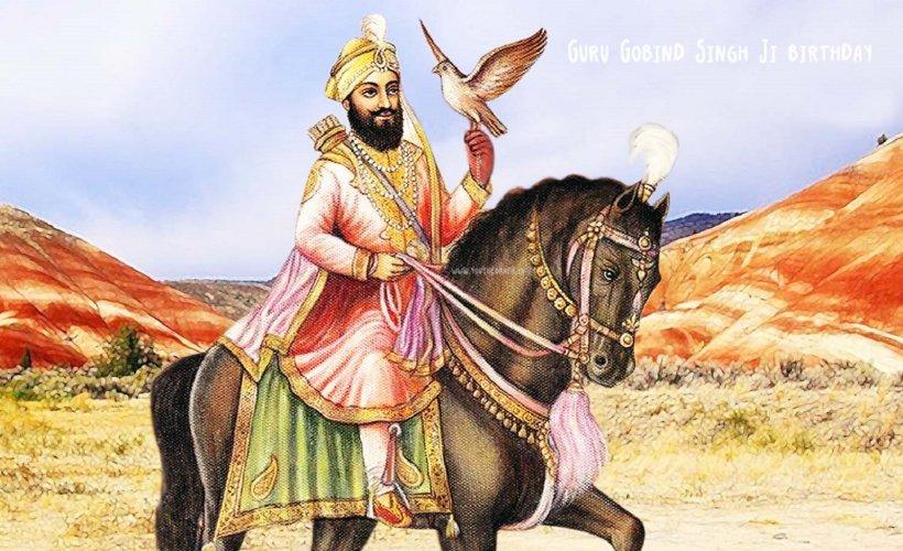 Guru gobind singh the tenth sikh guru sikhnet - Shri guru gobind singh ji wallpaper ...