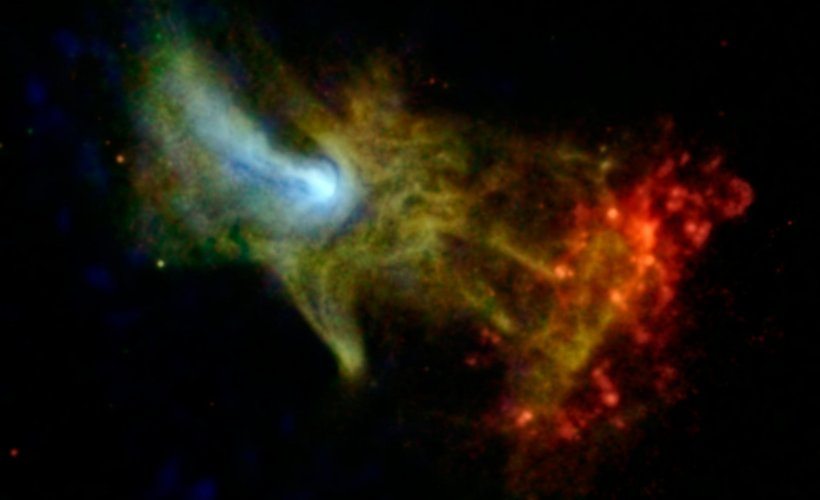 The Hand of God: Scientists reveal amazing X-ray image of ...