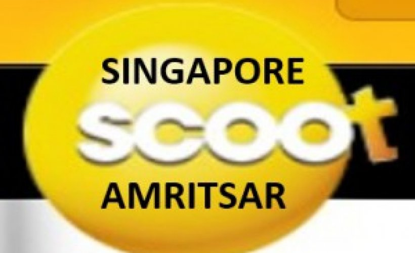 Singapore Airline Scoot to Start Singapore - Amritsar Flight from ...