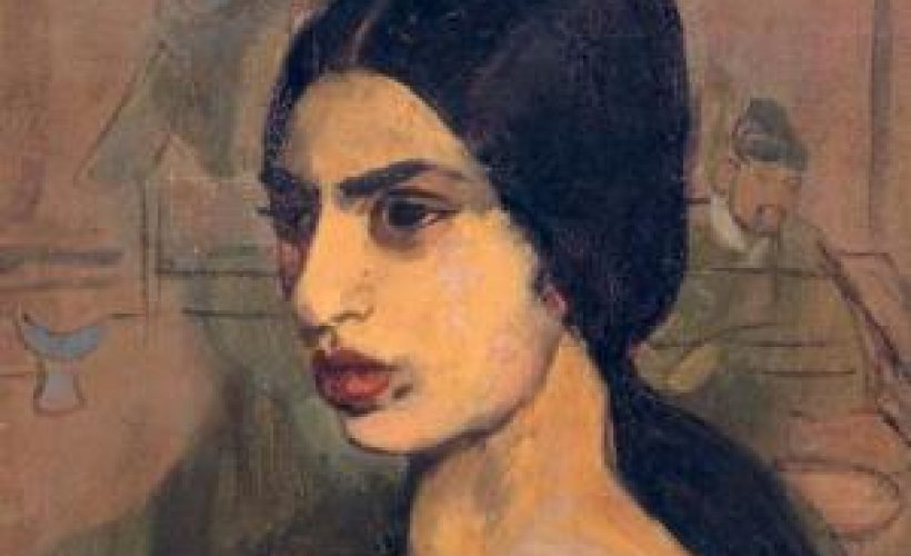 fc28720a4b23 Amrita Shergil: A Self-Portrait in Letters and Writings ~ A Book Review by  Salman Rushdie