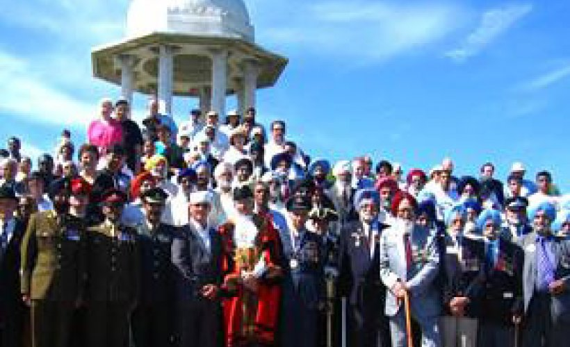 The Chattri Memorial Service  | SikhNet
