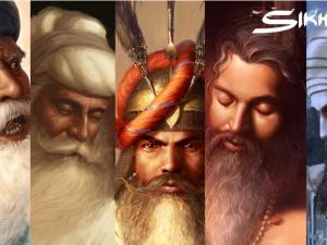 Sikhi Art by Bhagat Singh Bedi