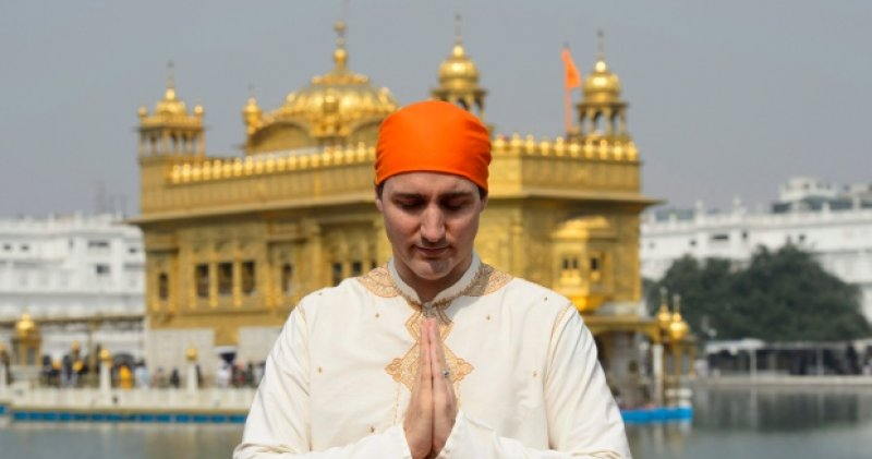Trudeau visits golden temple sikhnet for Navdeep s bains