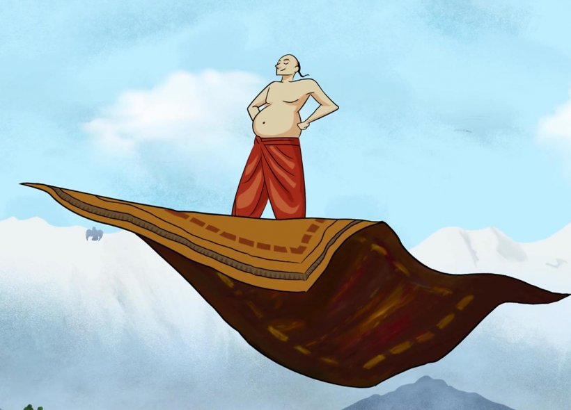 Guru Nanak And The Flying Carpet Sikhnet