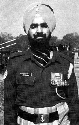 Http://www.sikhnet.com / sikh man in army uniform